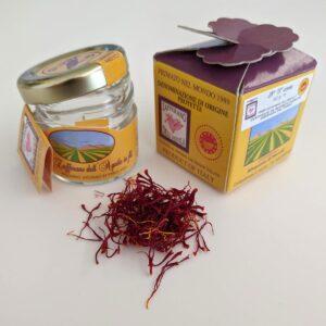 zafferano dell'aquila dop vasetto da 0,5 grammi